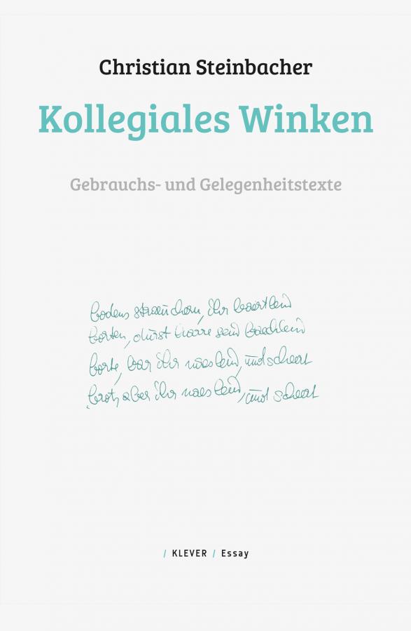 Steinbacher Cover